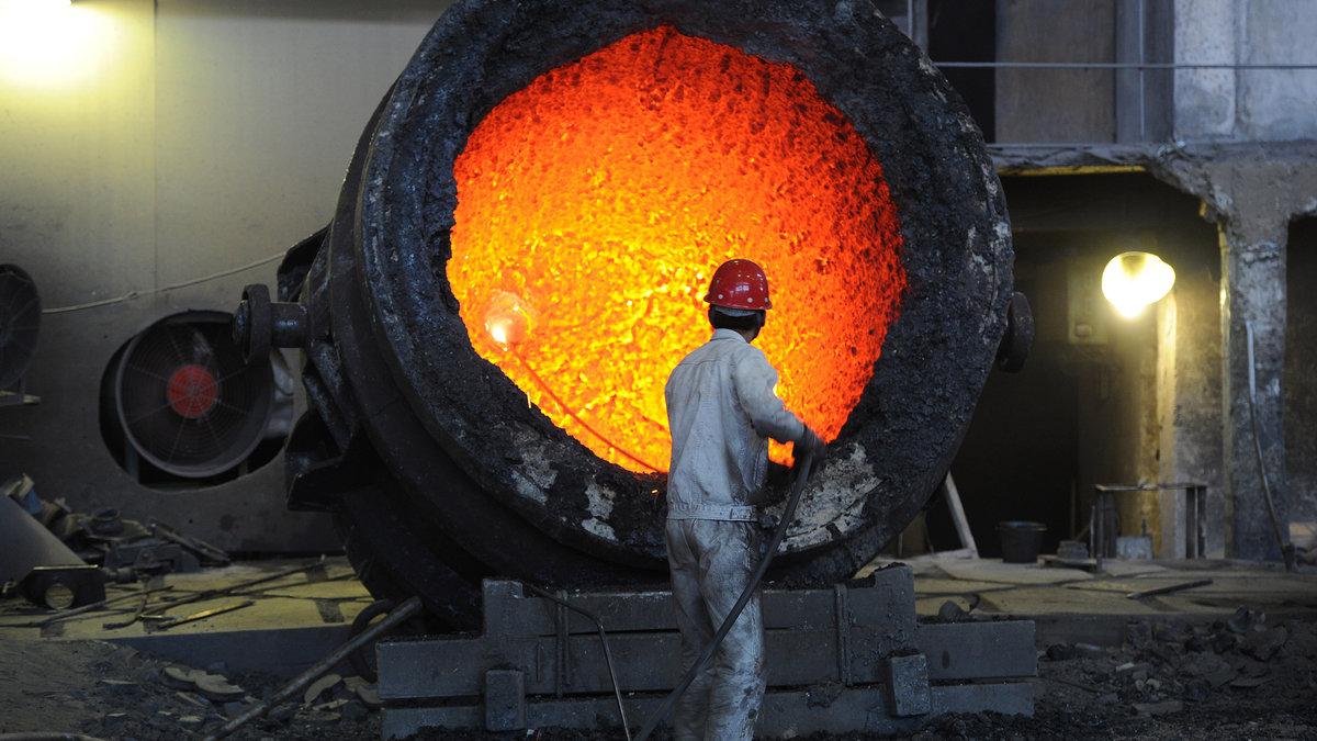 Увеличение мировых показателей выплавки стали