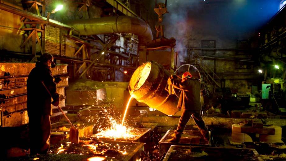 В США недельное производство стали к прошлому году выросло на 5%