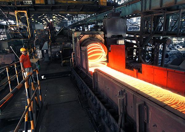В Индии снизилось потребление стали
