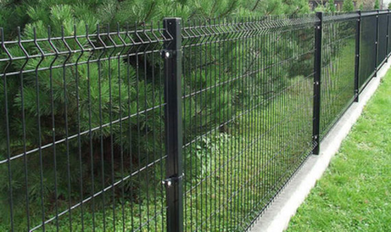 картинка Забор из сварной сетки: