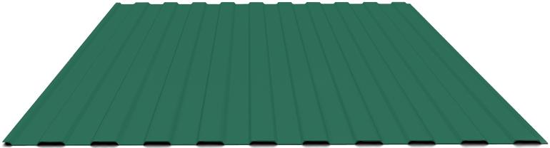 Профнастил С8 зеленый мох RAL6005 (2000х1200) фото, Профнастил С8 зеленый мох RAL6005 (2000х1200) картинка, Профнастил С8 зеленый мох RAL6005 (2000х1200) в Москве фото